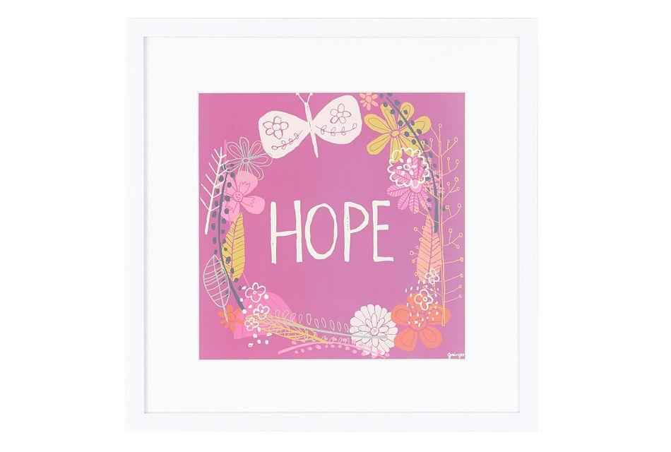 Hope Multicolored Framed Wall Art