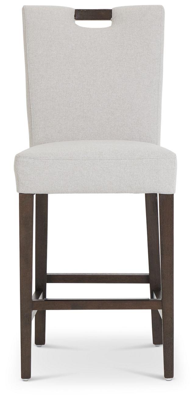 """Stout Light Gray 24"""" Upholstered Barstool (3)"""
