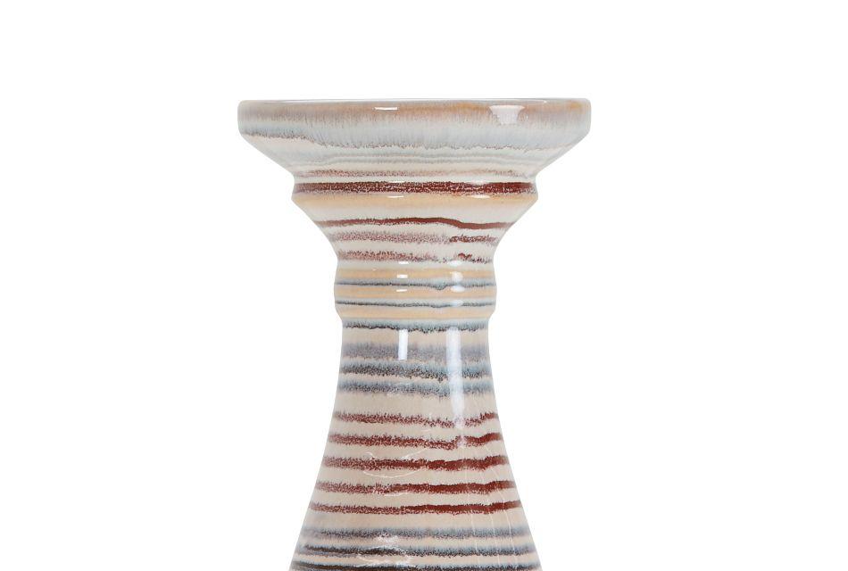 Ezili Multicolored Short Candle Holder