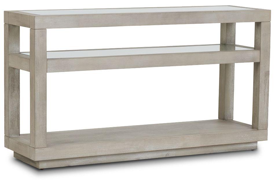 Madden Light Tone Sofa Table,  (2)
