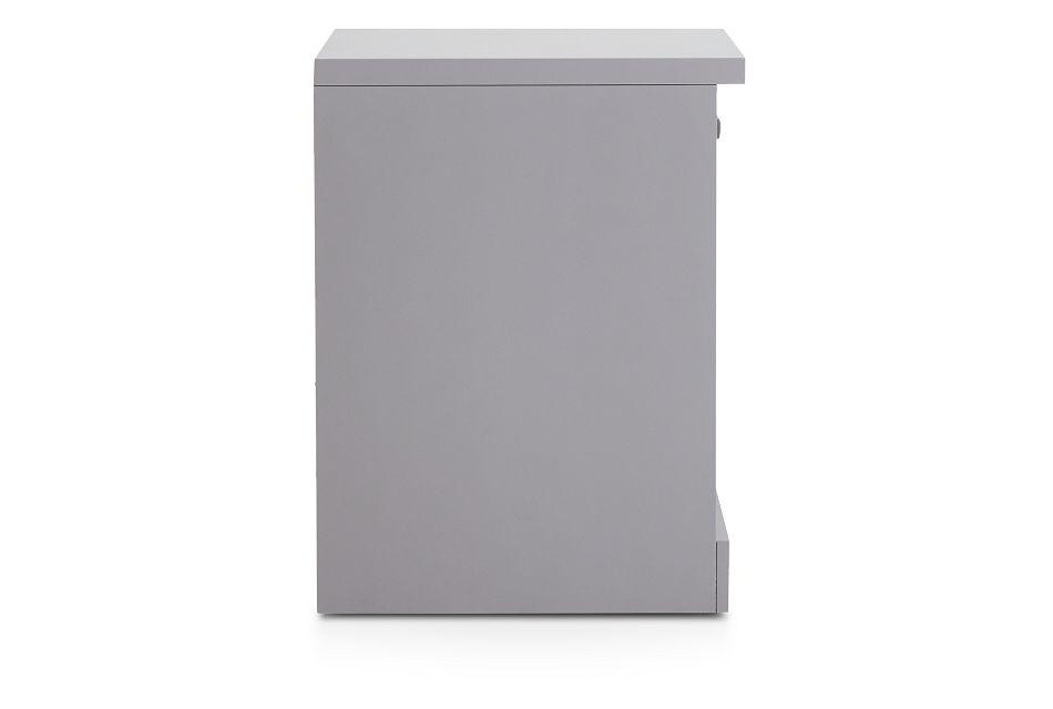 Newport Gray Door Cabinet,  (3)