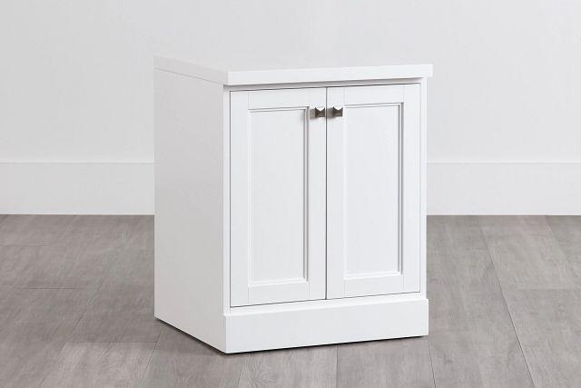 Newport White Door Cabinet (0)
