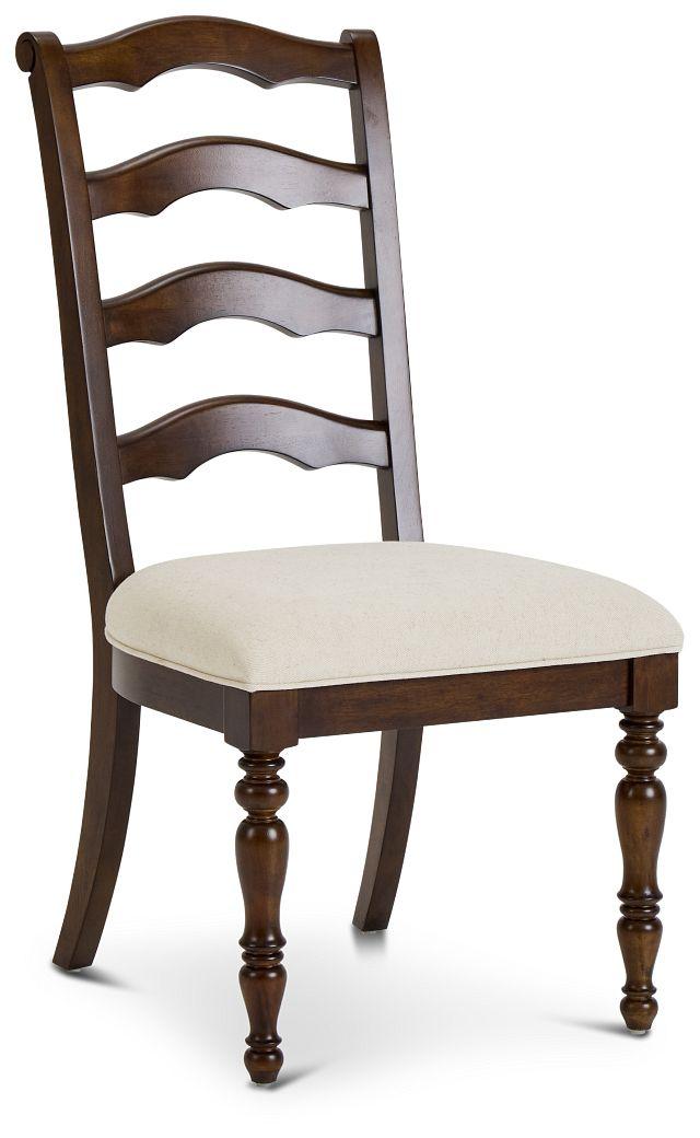 Savannah Dark Tone Wood Side Chair (3)