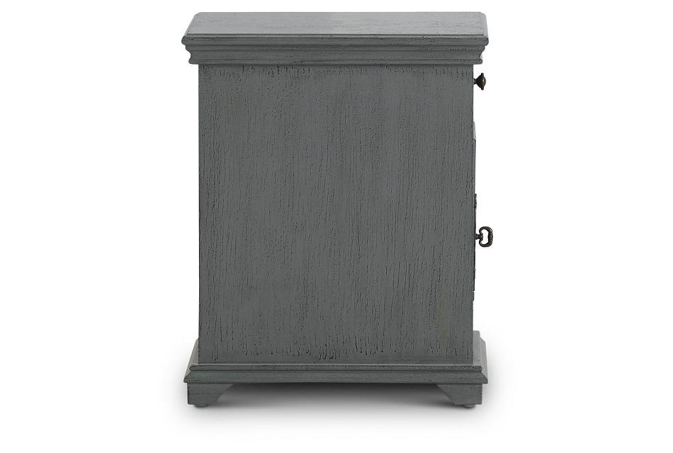 Alexis Dark Gray Small Cabinet,  (3)