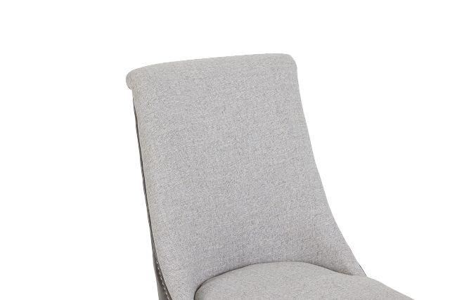 Brynn Light Gray Micro Side Chair