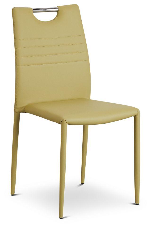 Skyline Light Green Upholstered Side Chair (1)