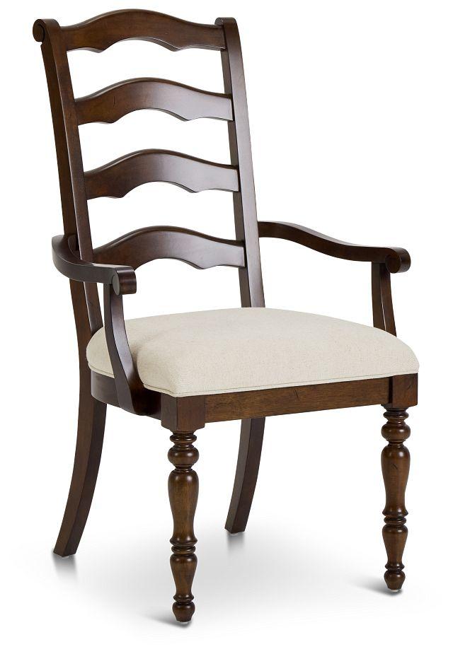 Savannah Dark Tone Wood Arm Chair (3)