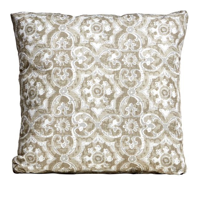 """Athens Gray 18"""" Indoor/outdoor Accent Pillow (0)"""