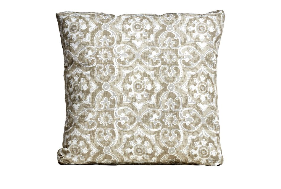 "Athens Gray 18"" Indoor/outdoor Accent Pillow"