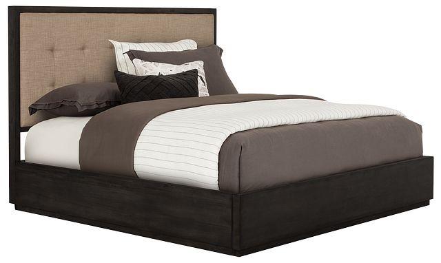Madden Dark Tone Platform Storage Bed
