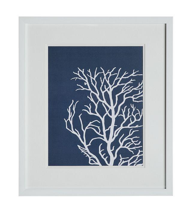 Lyra Dark Blue Framed Wall Art (0)