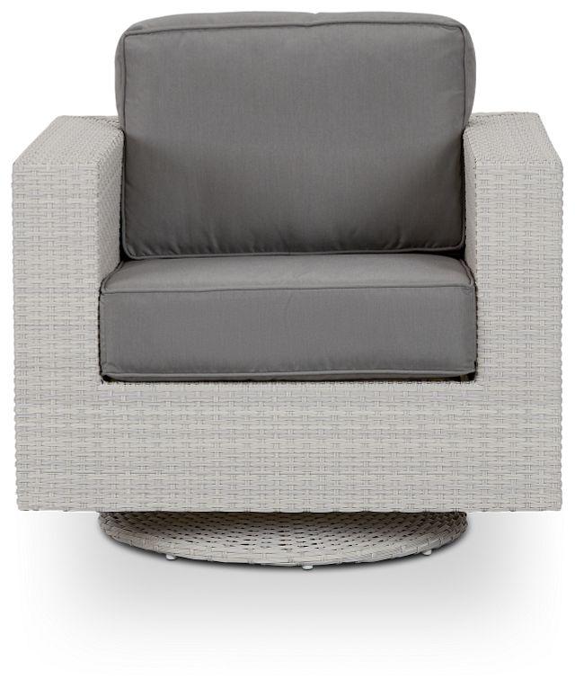 Biscayne Gray Swivel Chair (2)
