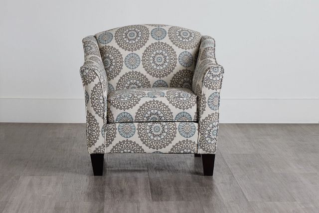 Meadow Multicolored Fabric Accent Chair (0)