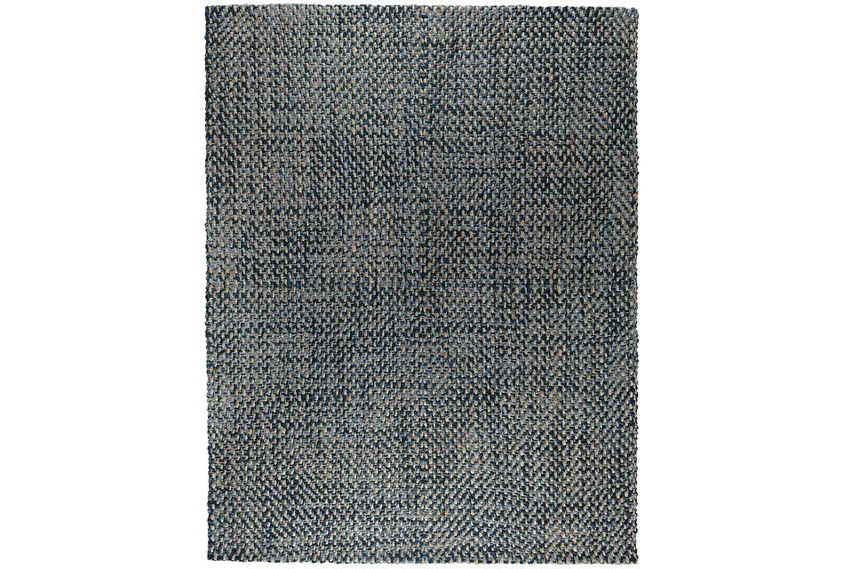 Ladera Dark Blue 5x8 Area Rug