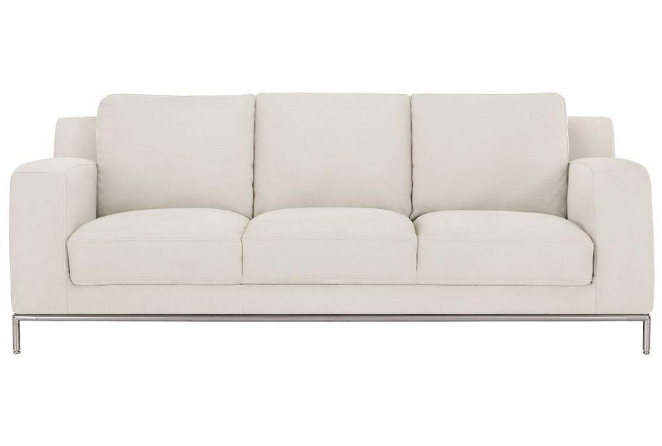 Wynn White Micro Sofa