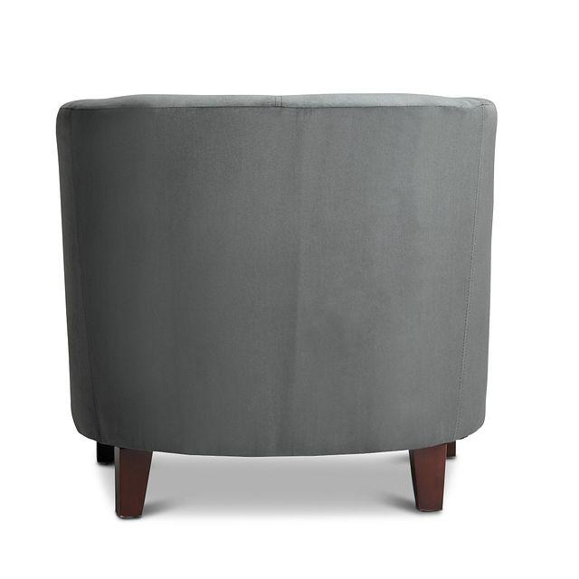 Concord Dark Gray Velvet Accent Chair (3)