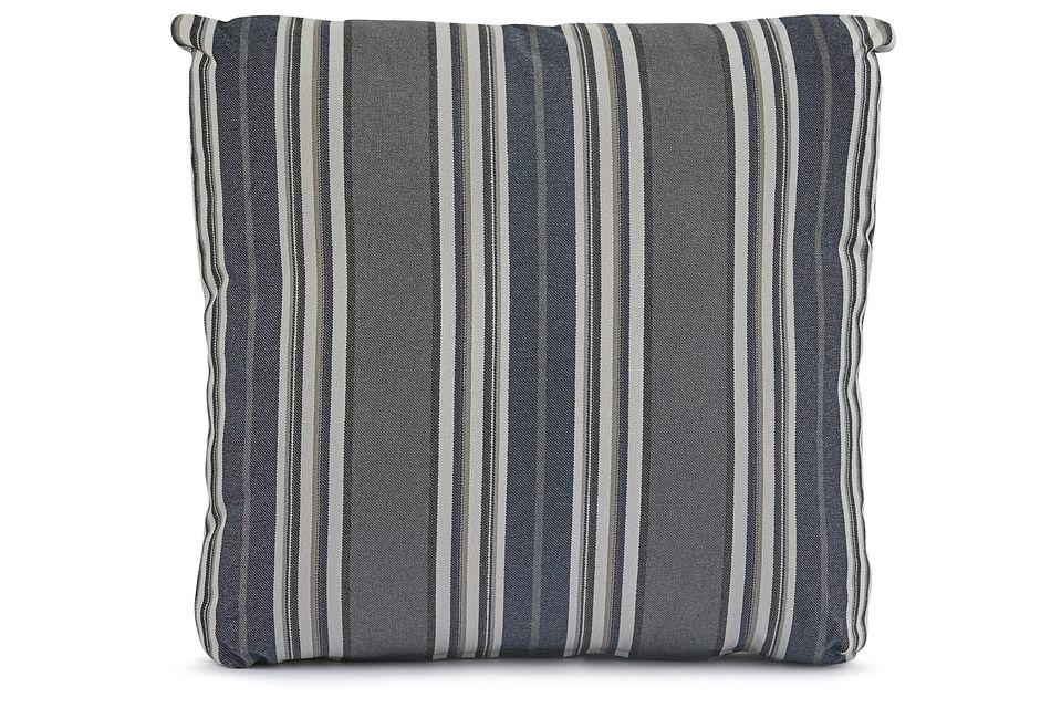"""Amuse Blue 18"""" Square Accent Pillow"""