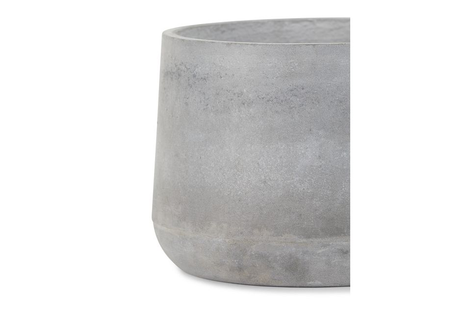 Addison Round Cement Planter