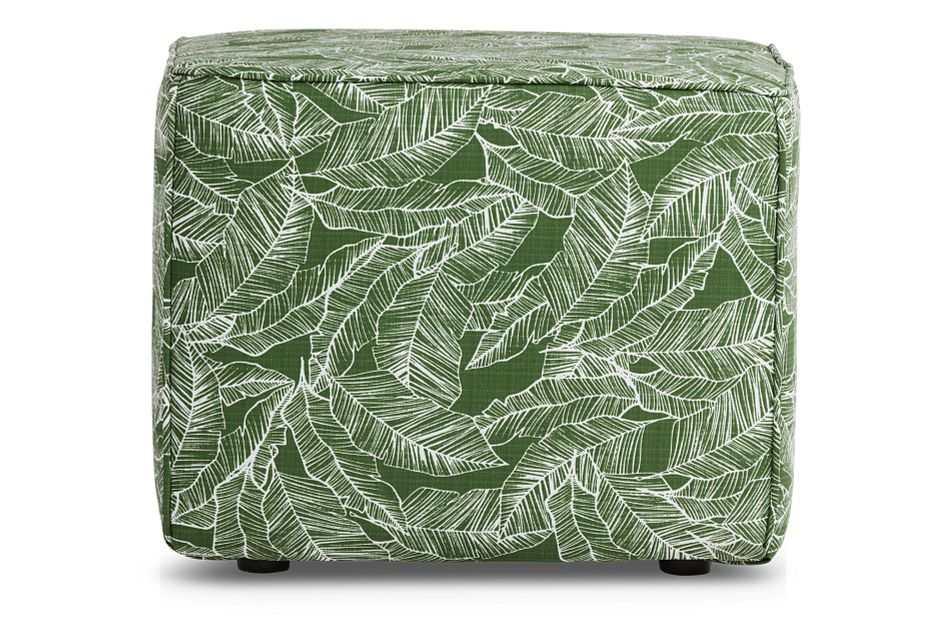 Pacific GREEN  Indoor/Outdoor Accent Ottoman