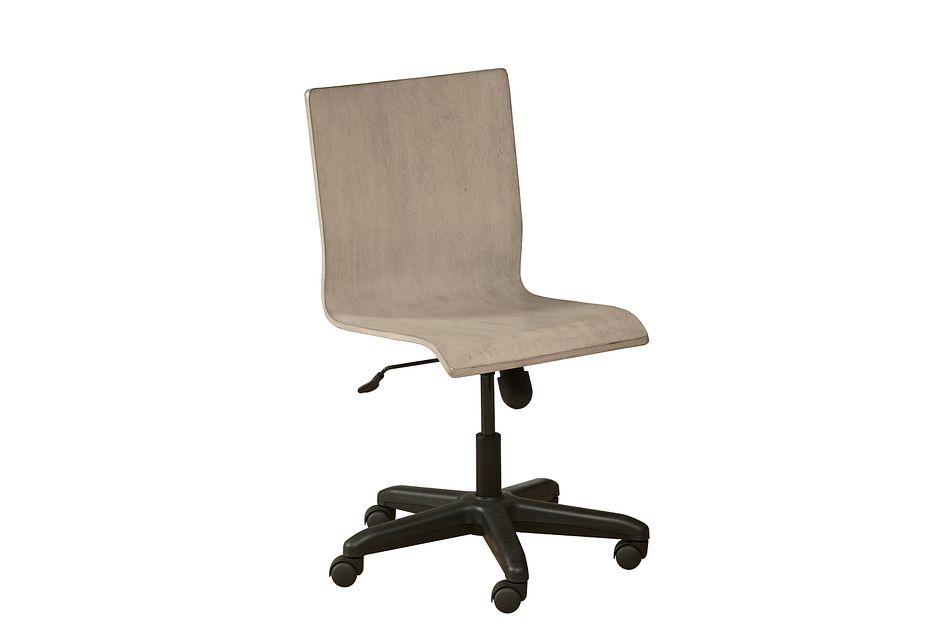 Rivercreek Gray Wood Chair