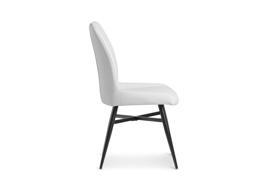 Lemans Gray Upholstered Side Chair