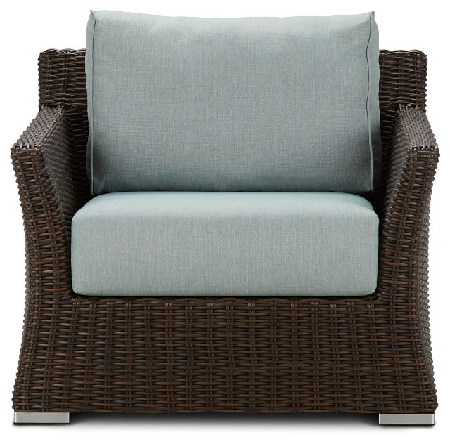 Southport Teal Woven Chair (2)