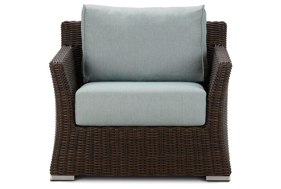 Southport Teal Woven Chair