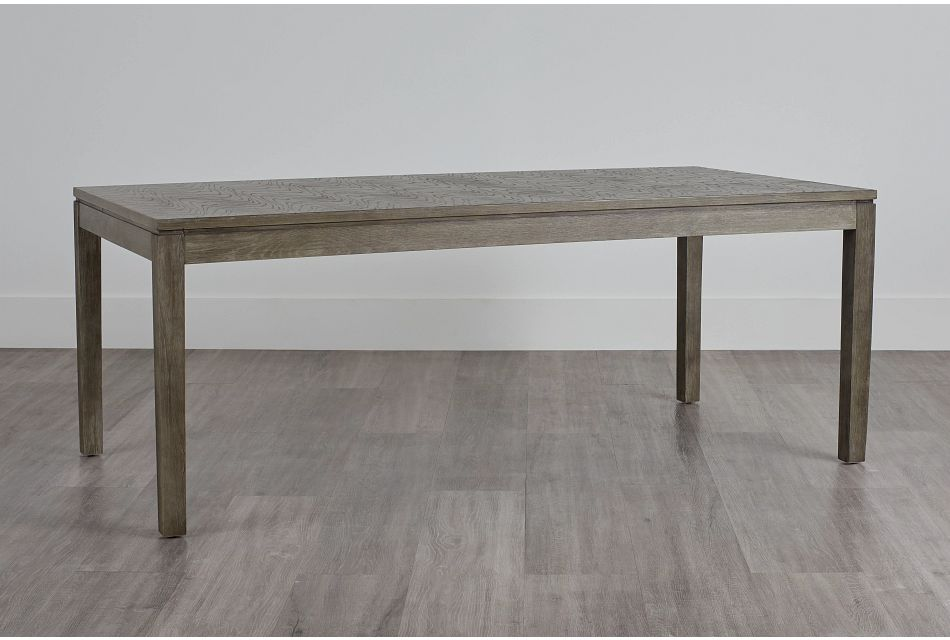 Bravo Dark Tone Rectangular Table