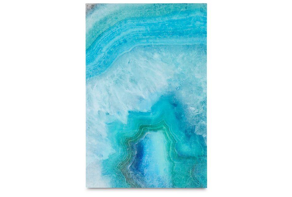 Lazuli Teal Acrylic Wall Art