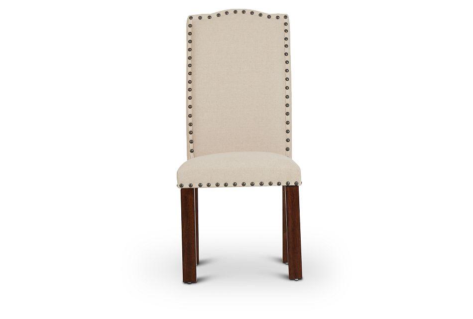 Napa Dark Tone Upholstered Side Chair,  (3)