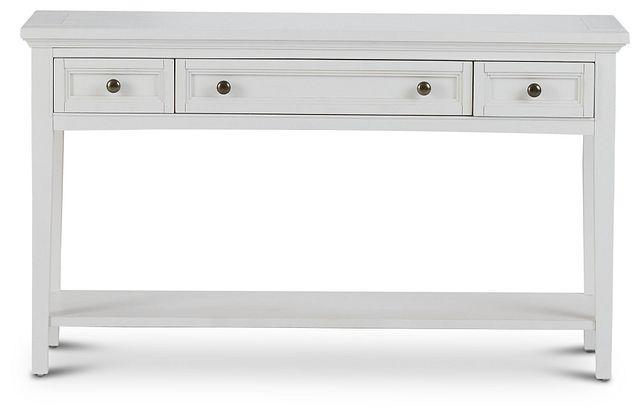Heron Cove White Sofa Table (1)