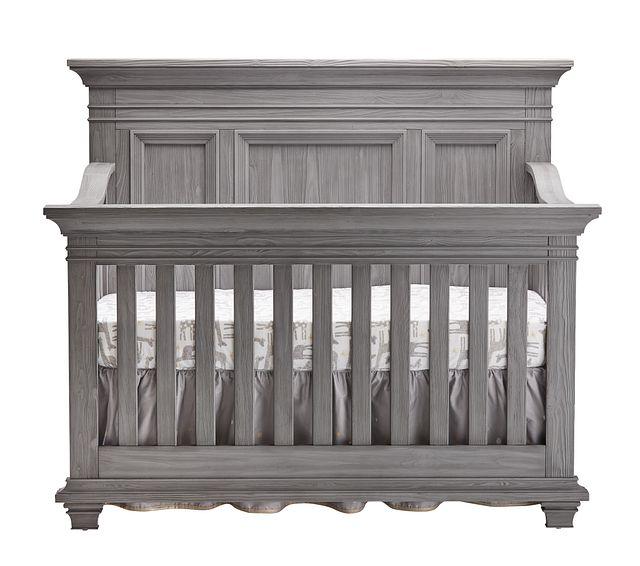 Westport Light Gray 4-in-1 Crib (2)