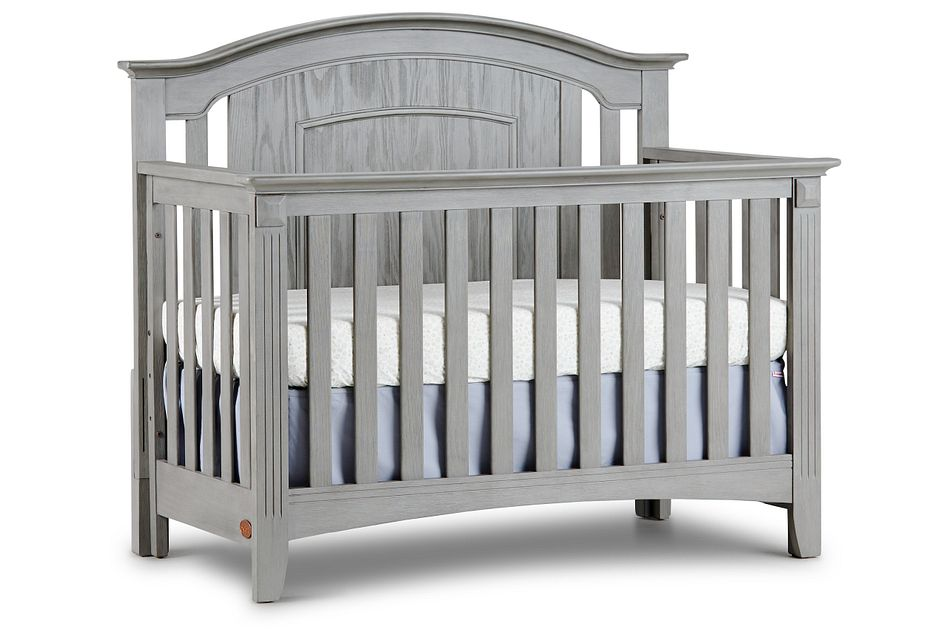 Willowbrook2 Gray 4-in-1 Crib,  (1)