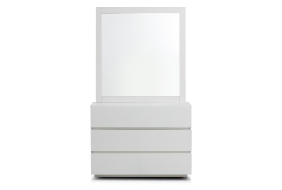 Pesaro Two-tone Dresser & Mirror