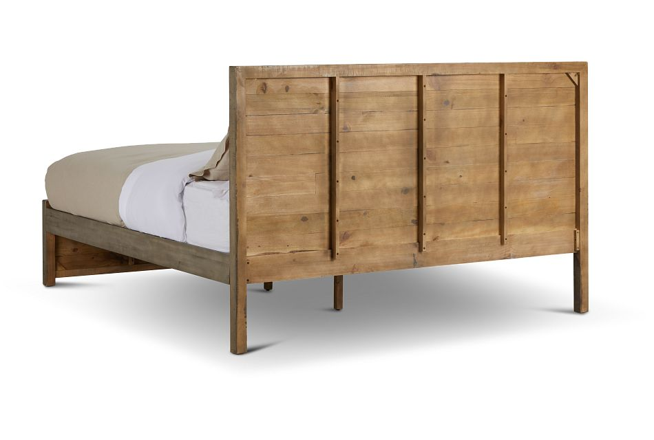 Seattle Gray Wood Platform Bed