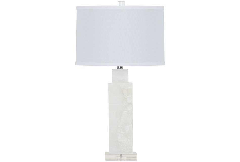 Presidio Light Beige Table Lamp