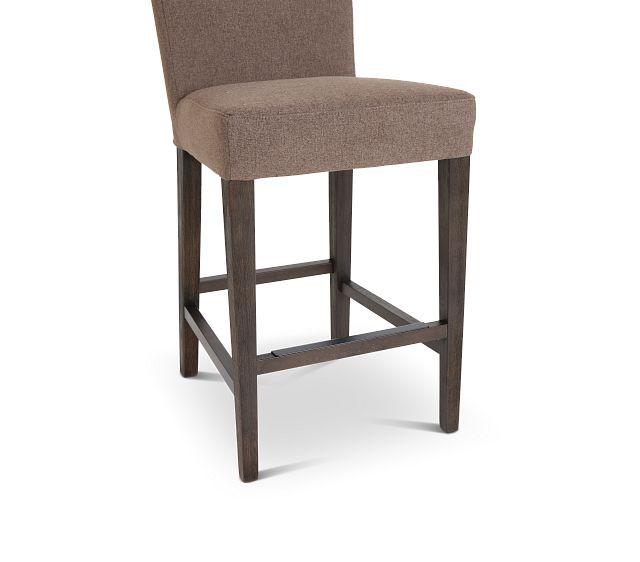 "Stout Brown 24"" Upholstered Barstool"