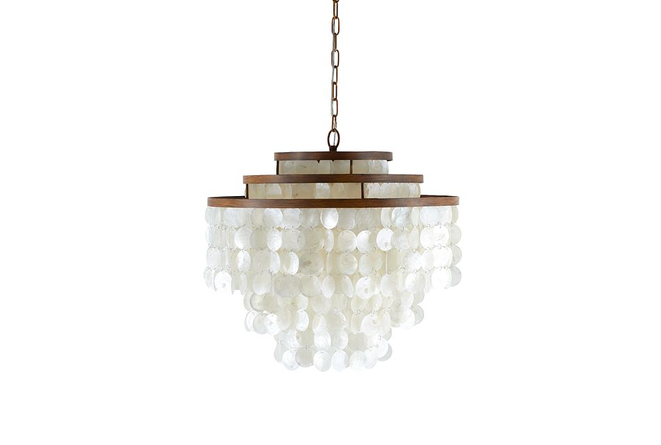 Sheila White Chandelier