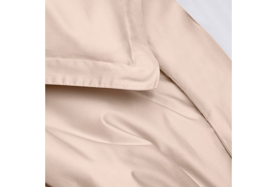 Cotton Sateen Pink 300 Thread Duvet Set