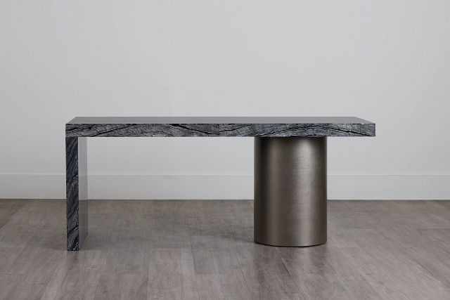 Linea Black Marble Desk (0)