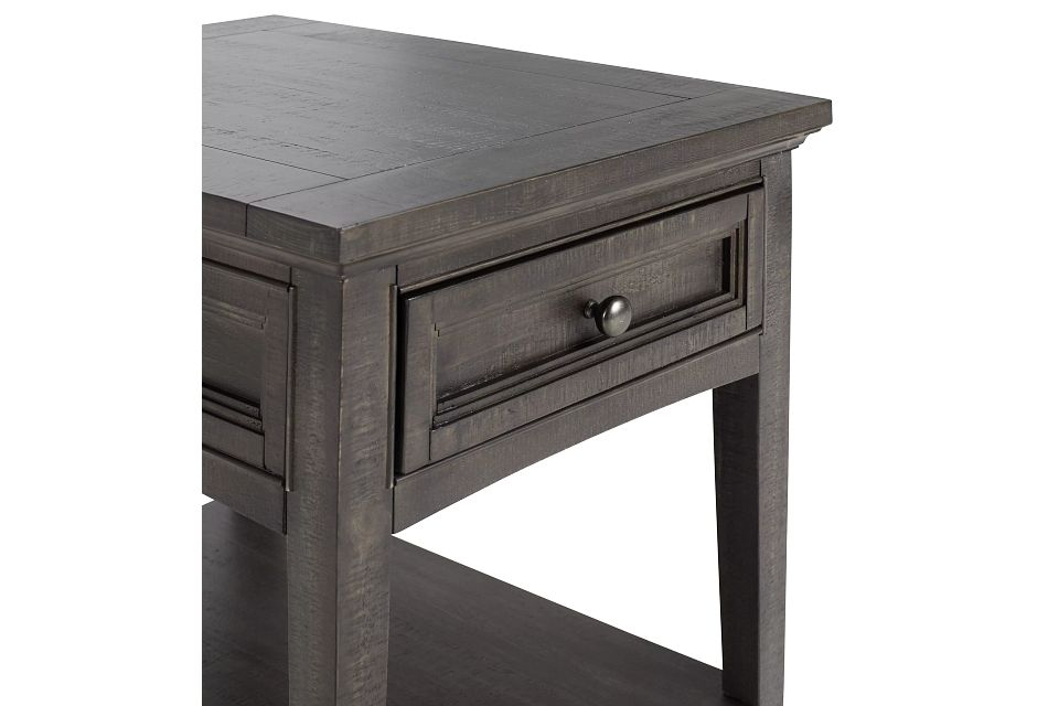 Heron Cove Dark Tone Rectangular End Table