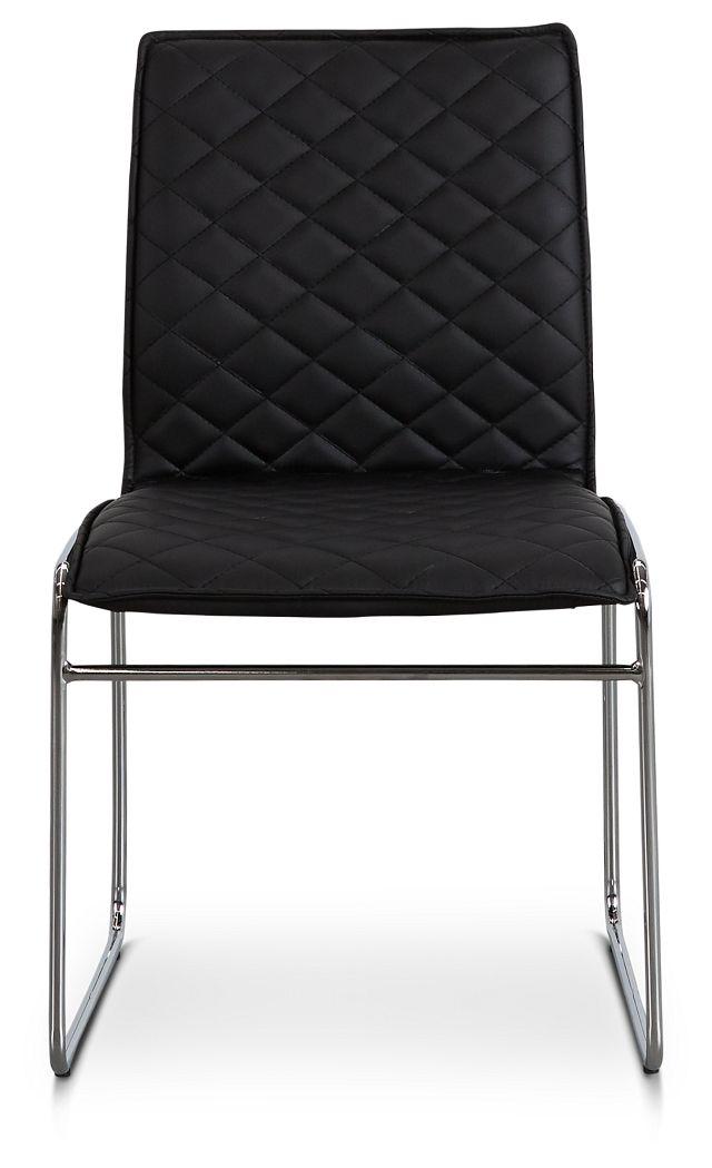 Skyline Black Metal Side Chair (3)