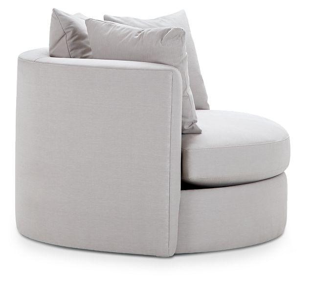 Merrick Gray Fabric Swivel Chair (2)