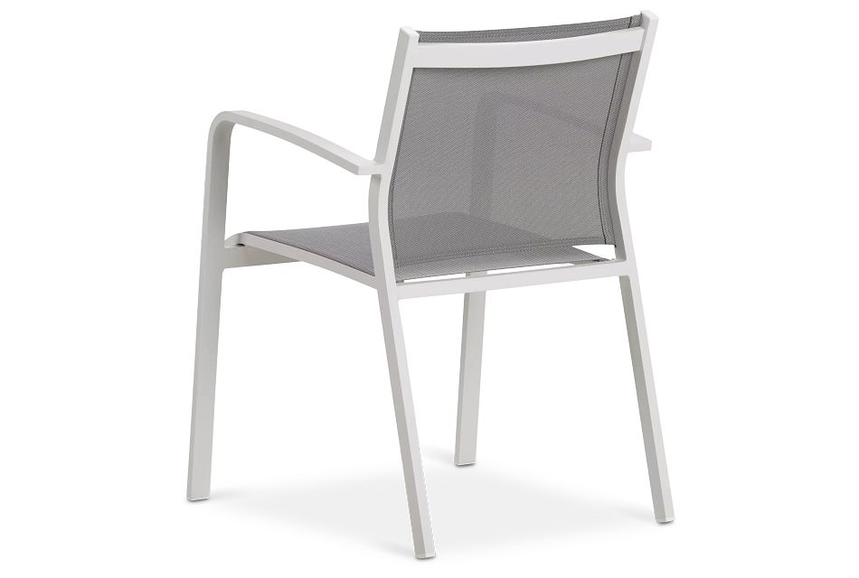 Lisbon Gray Sling Chair,  (3)