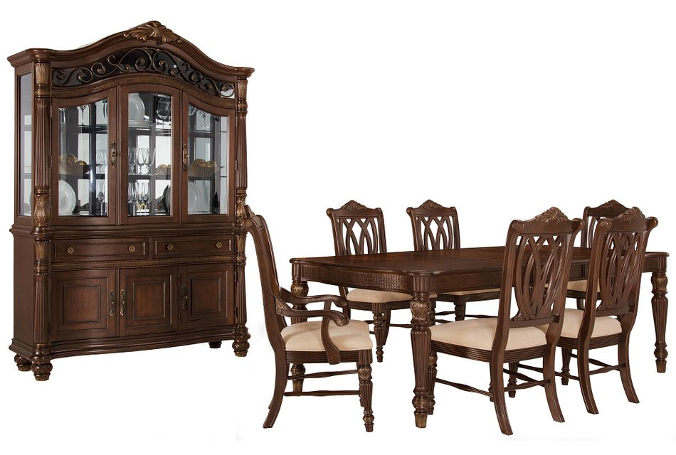 Tradewinds Dark Tone Rect Dining Room