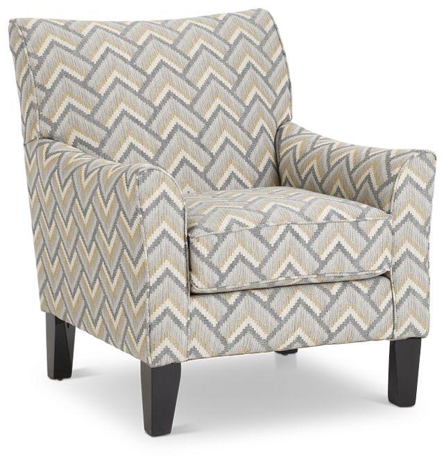 Maggie Dark Gray Multi Accent Chair (1)