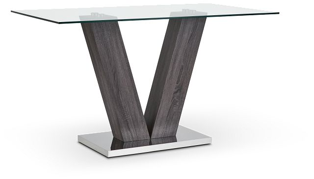 Kendall Glass High Dining Table (2)