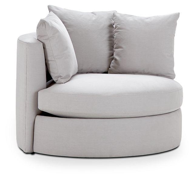 Merrick Gray Fabric Swivel Chair (1)