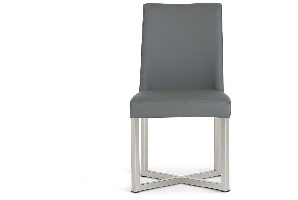 Howard Gray Upholstered Side Chair,  (3)