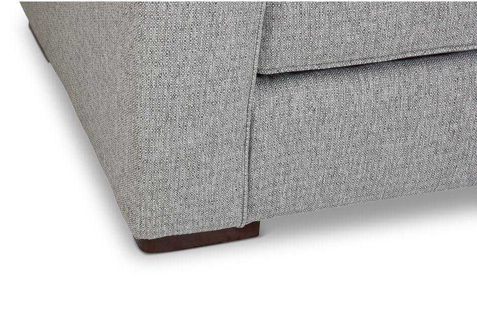 Austin Gray Fabric Memory Foam Sleeper